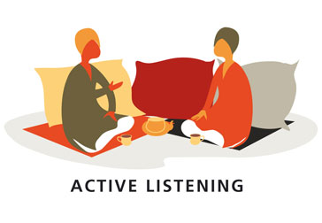 active listening in counselling Enter a skill called active listening  find help or get online counseling  below you will find 13 different skills that help people be better active.