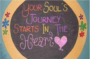 your souls journey starts in the heart
